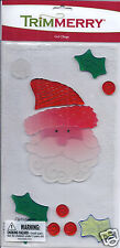 Christmas WINDOW DECOR GEL CLINGS Christmas Trees SANTA Snowflakes CANDY CANES