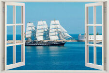 Wall Window Decal 3d Removable Mural Stickers Art Decor Vinyl View Sticker Home