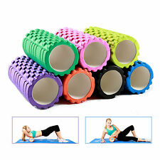 "Ritfit 13""x5"" Tissue Point Massage Trigger Grid Therapy Yoga Pilates Foam Roller"