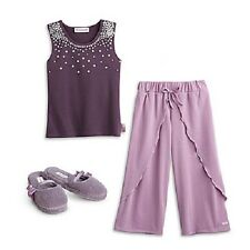American Girl Doll Isabelle's GIRL PAJAMAS or SLIPPERS for GIRLS   XS S M L XL