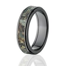 RealTree Camouflage Wedding Bands, RealTree Timber Camo Rings