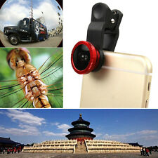 Universal Clip 3in1 180° Fisheye + Macro + Wide Angle Camera Lens for All Phone