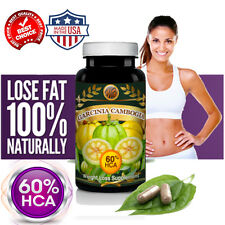 1600mg Pure Garcinia Cambogia Extract Weight Loss Diet Pills Fat Burner