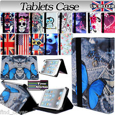 """UNIVERSAL FOLDING FOLIO LEATHER STAND CASE COVER FOR ANDROID TABLET PC 7"""" 7 inch"""