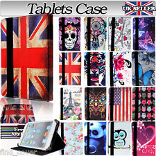"UNIVERSAL FOLDING FOLIO LEATHER STAND CASE COVER FOR ANDROID TABLET PC 8"" 8 inch"