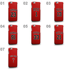 Personalised Customized Chicago Red Swingman Road Jersey Part 1 Phone Case Cover