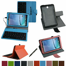 "Rotary Removable USB Keyboard Case+Pen for 8"" Hisense Sero 8 E2281 Android Tab"