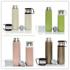 Stainless Steel Tea Water Coffee Flask Vacuum Thermos Cup Bottle Travel Mug -H