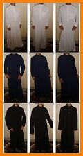 Men Islamic clothing Arabic Thobe Kaftan Abaya Dishdasha Jubba Saudi Thawb Robe