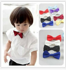 Kids Baby Boy Bow Ties Necktie Bowtie Party Wedding Children Stain Bowknot