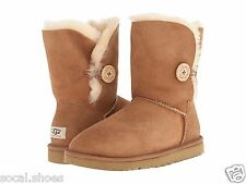 UGG AUSTRALIA WOMEN'S SHOES BAILEY BUTTON CHESTNUT 5803 GENUINE NEW UGG SALE