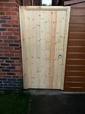 Wooden garden gate,  Made to order with fitting kit. Can be made any size