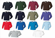Front Row long sleeve original rugby shirt, sizes S-3XL, FR01M polo shirt