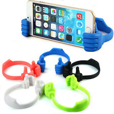 Novelty Hand Design Clip Bracket Flexible Phone Stand Holder for iPhone Samsung