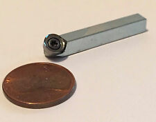 """1/4"""" (6mm) diam carbide with 3/16"""" square holder for woodturning hollowing tools"""