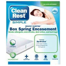 Bed Bug & Allergy Box Spring Encasement by CleanRest Simple - (Pack of 3)