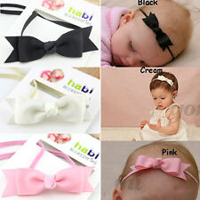 Baby girl ribbon bow headband infant baby hair band children hair accessories