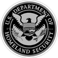 Homeland Security Subdued Police Sheriff EMS Rescue Emergency SAR Decal  Sticker
