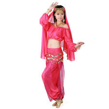 Ladies Indian dance costume dress Belly dance practice clothes suit UA0008