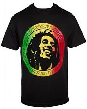 Bob Marley Rasta Men's Black T shirt