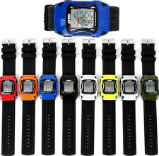 NEW Children Boy Digital LED Luminous Alarm Sport Rubber Wrist Watch XMAS Gifts
