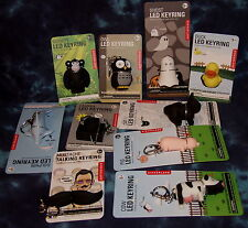 Animal Key Chains or Backpack Clips with SOUNDS! - VERY COOL & CUTE! NEW!