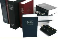 Dictionary Secret Book Hidden Safe Hide Cash Key Lock Small Middle Large Size