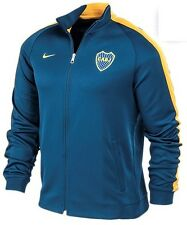 NEW NIKE 2014 ORIGINAL BOCA JUNIORS JACKET N 98 TRAINING SOCCER ARGENTINA BLUE