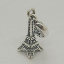 Brand new Eiffel Tower 925 sterling silver Pendant Charm bead