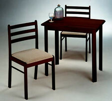 3 Piece Snack Dining Table Set with Chairs
