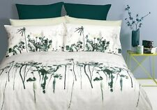 Paxton & Wiggin Morison Off White Green Quilt Doona Cover Set  DOUBLE QUEEN KING