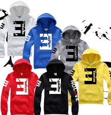 Unisex Eminem NO LOVE Man Thick Fleece Hooded Hoodie Lil Wayne Hoody Sweatshirt