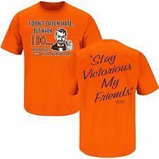 "Cleveland Browns Stay Victorious Men's T-Shirt ""Hate Pittsburgh Steelers"""