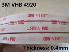 3M VHB #4920 Double-sided Acrylic Foam Tape Automotive length 33 Meter( 108ft )