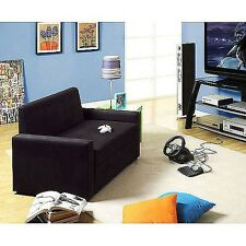 Sleeper Loveseat sofa couch futon convertible fold out double bed sleeps 2 NEW