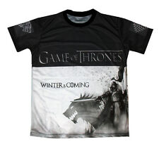 Game of Thrones Winter is Coming  2 - Sided All Over Sublimation Print T-Shirt