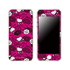Skin Decal Sticker iPhone Galaxy Universal Mobile Phone Hello Kitty Doughnuts