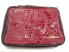 Samantha Brown Croco-embossed jewelry case