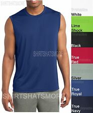 Mens Sleeveless Muscle T-Shirt Shooter Tank Basketball Moisture Wick XS-4XL NEW!