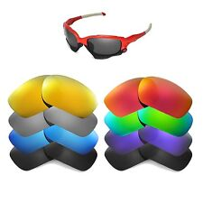 Walleva Replacement Lenses for Oakley Jawbone Sunglasses - Multiple Options