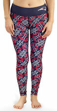 New England Patriots Logo Thematic Print Womans Leggings Yoga Pants Tights NFL