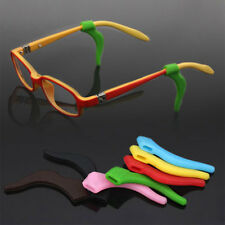 2 Pcs Silicone Temple Hook Tips Eyeglasses Spectacle Ear Grips Anti Slip Holder