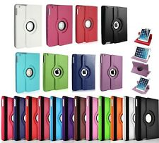 360 Degree Rotating PU Leather Case Cover Swivel Stand for Apple iPad mini 1 2 3