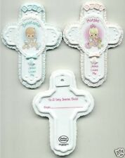 Precious Moments Jesus Loves me Cross Baby Girls porcelain