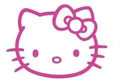 HELLO KITTY STICKER VINYL DECAL VEHICLE CAR WALL LAPTOP