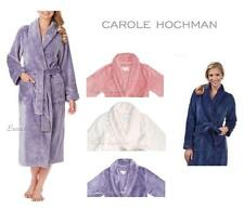 CAROLE HOCHMAN LONG ROBE Luxuriously Soft Wrap, Shawl collar, Pockets Womens NEW