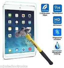 Premium Tempered Glass Screen Protector & pouch for iPad Air 1 2 iPad Mini 1 2 3