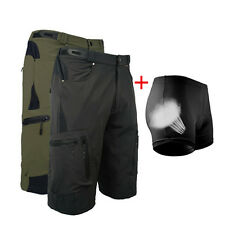 New MTB Men Cycling Mountain Bike/Bicycle Shorts Half Pants (3D Padded Underwer)