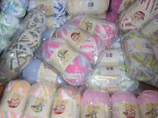 Lot of 3 Bernat Baby Blanket Yarn, **You Choose Color**
