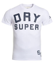 New Mens Superdry Factory Second SDJ T-Shirt White